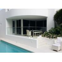 Buy cheap Bridge Anodizing Finish Balcony Modern Glass Stair Railing Aluminum Easy To Install from wholesalers