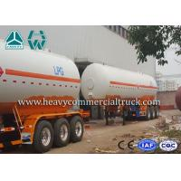 Wholesale Low Fuel Consumption Aluminium LPG Semi Trailer Customized Design from china suppliers