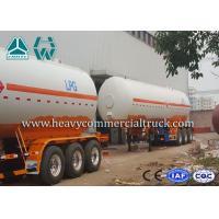 Buy cheap Low Fuel Consumption Aluminium LPG Semi Trailer Customized Design product