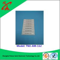 OEM 58khz Retail Alarming Magnetic Security Strips / Security Alarm Tag