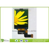 Buy cheap Small Color LCD Module 2.4 TFT Display Resolution 240x320 With RGB interface from wholesalers