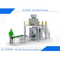 Buy cheap Professional Automatic Form Fill Seal Machines , Linear Weigher Vertical Bagging Machine from wholesalers