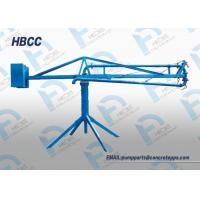 Buy cheap Movable manual Concrete boom placer for construction concrete distribution machine from wholesalers