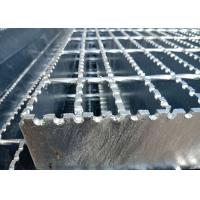 Wholesale Expanded Serrated Steel Grating , Steel Safety Grating For Ship Plate from china suppliers