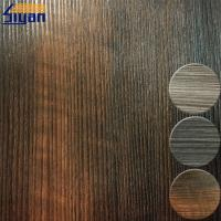 China Interior Wooden PVC Furniture Film For MDF Boards , 0.3mm Thickness on sale