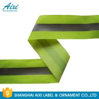 Wholesale 100% Polyester Ribbons Reflective Safety Tape Single Sided With Offer Printing from china suppliers