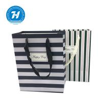 Wholesale Fancy Custom Printed Merchandise Bags Craft Rope Handle Unique Design from china suppliers