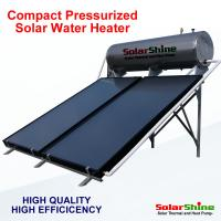 Wholesale Automatic Flat Plate Solar Water Heater Directed Thermosyphon Circulation Type from china suppliers