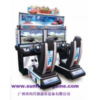 Buy cheap hot sale china supplier 32 LCD outrun simulator racing game machine from wholesalers