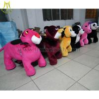 Hansel Wholesale stuffed animal ride electronic coin toys happy rides on animal Manufactures