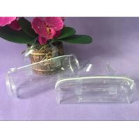 Quality Clear Handle PVC Packing Bag , Plastic Toy Round PVC Gift Bags for sale