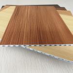 Buy cheap Light Weight Fireproof Wood Grain Aluminium Core Panel , Aluminium Advertising Boards from wholesalers