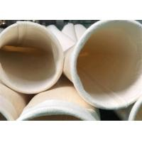 Buy cheap Non Woven Nomex / Aramid Filter Bag Industrial Dust Bag Abrasion Resistance from wholesalers