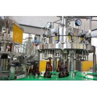 Buy cheap Full - Automatic Carbonated Drink Bottling Machine For Glass Bottles 8000BPH from wholesalers