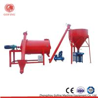 Buy cheap Simple Stucco Lime Sand Plaster Dry Mortar Mixer Machine Low Energy Consumption from wholesalers