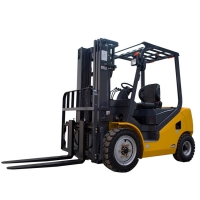 Buy cheap Pneumatic Tire 3 Ton Fd30t Diesel Forklift Truck For Lifting from wholesalers