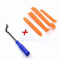 Buy cheap Blue Car Removal Tool + 4pcs/set Portable Vehicle Car Panel Audio Trim Removal Tool Set Kit Practical Car Repairing Hand from wholesalers
