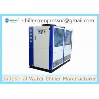 Buy cheap 5HP 10HP 20HP 30HP R404A R410A Copeland Compressor Brewery Air Cooled Glycol Chiller from wholesalers