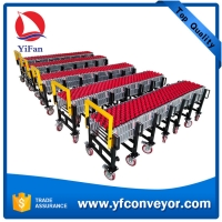 Wholesale Expandable Flexible Gravity Wheel Conveyor Machine from china suppliers