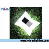 Buy cheap White Waterproof Outdoor Inflatable Folding Solar Camping Lamp , Led Solar Lantern from wholesalers