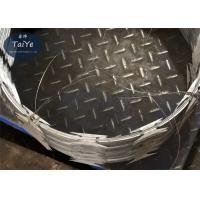 Buy cheap Iron Wire Material CBT 65 Razor Wire Hot Dipped Galvanized Steel Razor Sharp Wire from wholesalers