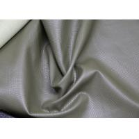 Buy cheap Grey Polyurethane Faux Leather , PU Artificial Leather Eco - Friendly from wholesalers