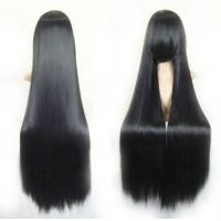 "40"" Straight Costume Play Party Wig (Black) Manufactures"