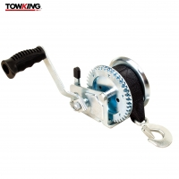 Buy cheap ISO9001 Certified 1000lbs Marine Trailer Winch , Manual Trailer Winch Reinforced Frame from wholesalers