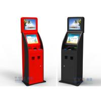 Buy cheap Cash , Credit Card and Checks Interactive Information Bank Self Service Kiosk from wholesalers