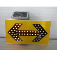 Buy cheap Solar LED sign direct arrow light from wholesalers