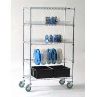 Buy cheap 5 Tiers Esd Pcb Racks / Pcb Storage Rack System For Electronics Industry from wholesalers