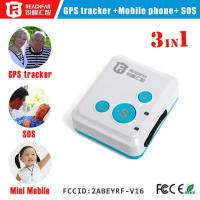 Buy cheap micro gps tracker/ kids gps transmitter tracker with sos/phone call function RF-V16 from wholesalers