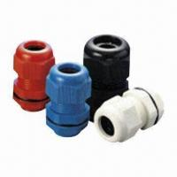 Buy cheap Nylon Cable Glands with 94V-2 Flame Class, RoHS Directive-compliant, Easy to Assemble from wholesalers