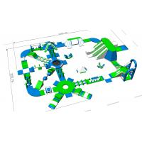 Buy cheap Lake / Beach / Sea Inflatable Water Park Equipment 3 Years Warranty from wholesalers