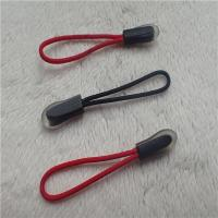 China Outside Wear Zip Fastener Puller With Transparent Outline Border on sale