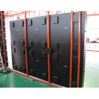 P10 SMD Outdoor Front Service LED Display Iron Cabinet  High Brightness for Advertising Manufactures