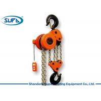 Buy cheap Heavy Duty Motor 10 Ton Chain Hoist , Chain Electric Hoist For Building from wholesalers