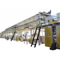 Buy cheap 3/5/7 ply corrugated paperboard production line from wholesalers