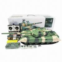 Buy cheap 1:16 RC Chinese ZTZ 99 Tank with Smoke and Sound Function, BB Shooting Version from wholesalers