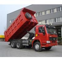 Buy cheap Red SINOTRUK Euro II Mining Dump Truck With Φ420mm Single Plate Dry Clutch from wholesalers