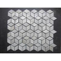 Buy cheap Shell Mosaic Tiles (Mother of Pearl Tiles) Natural white, Natural shell, With gaps from wholesalers