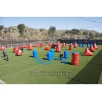 Wholesale Obstacle Airsoft Speedball Inflatable Bunkers For Paintball Shooting Sports from china suppliers