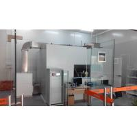 Buy cheap 50Hz Air Flow Test Equipment 1Kw Air Cleaner 30M³ Chamber Equipped With Glass from wholesalers