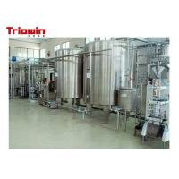 Buy cheap Milk Pretreatment Pasteurized Milk Processing Line 10 Tons /D Up To 100 Tons /D from wholesalers