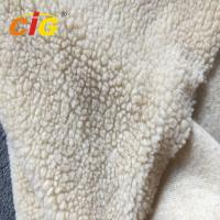Wholesale Acrylic Polyester Sherpa Long Pile Faux Fur Fabric For Seat Cover Garment from china suppliers