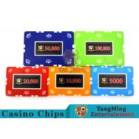 12g Leaf Design Clay Poker Chip With Custom Sticker 760 PCS With Aluminum Casio Case