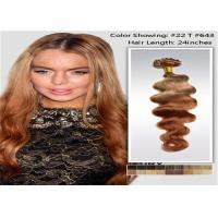 Buy cheap Natural Hair Line 3 Tone Ombre Hair Extensions No Tangle No Shedding product