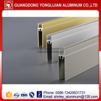 Buy cheap Aluminum profile for closet wardrobe door, aluminum closet warobe door making material from wholesalers