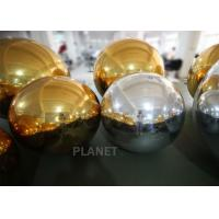 Buy cheap Durable Gold Inflatable Mirror Ball For Event Decoration EN71 EN14960 CE from wholesalers