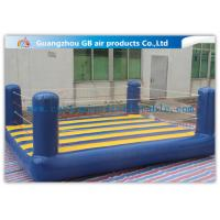 Buy cheap Custom Sports Bouncy Boxing Inflatable Wrestling Ring For Adult / Kids from wholesalers